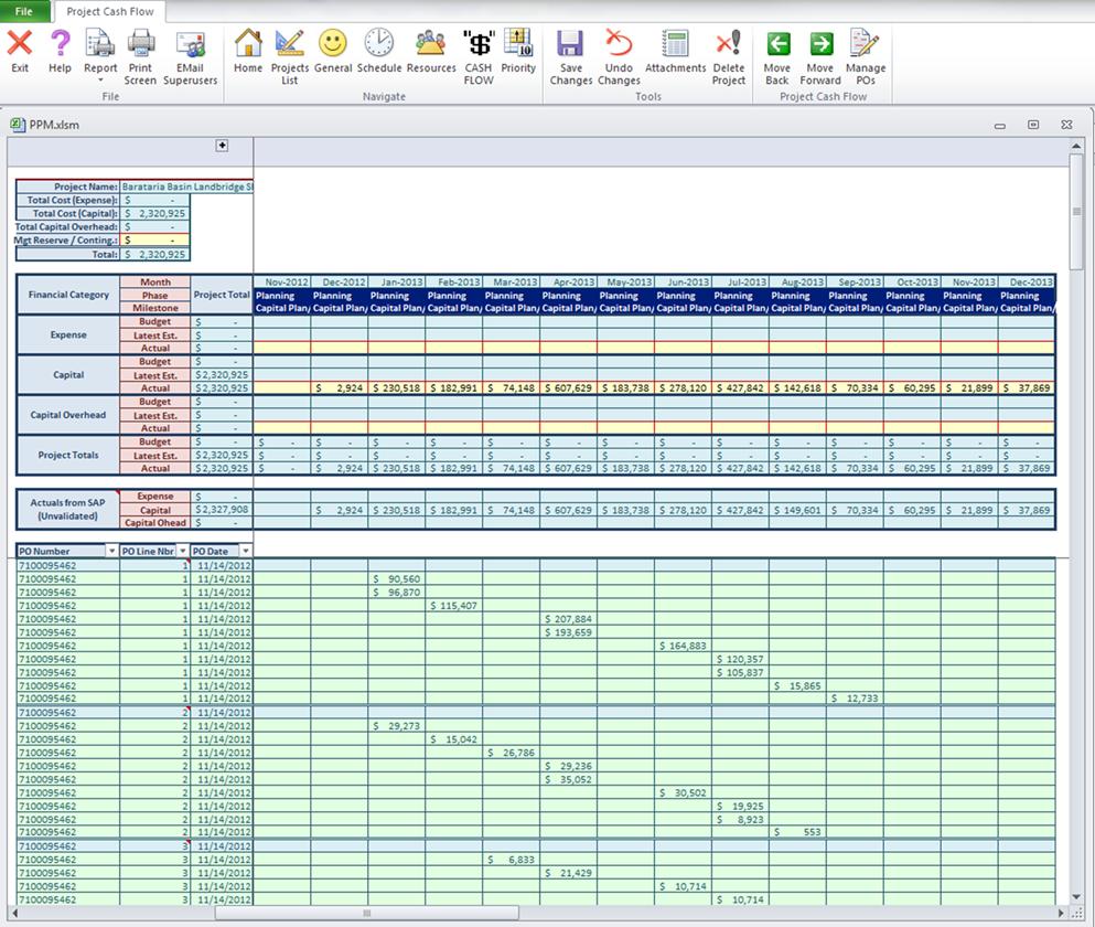 Project Portfolio Manager